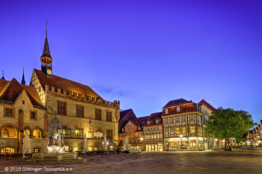 Altes Rathaus Göttingen - Abendstimmung