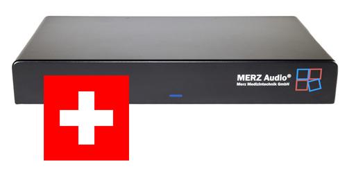 Das MERZ Audio ist jetzt auch in der Schweiz zugelassen