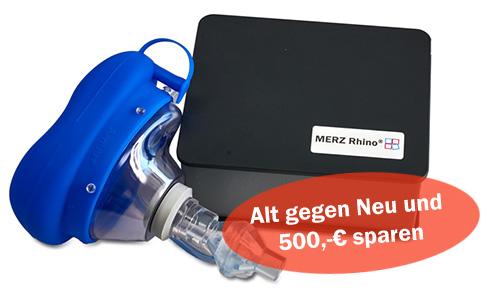 MERZ Rhino - Alt gegen neu tauschen und 500,-€ sparen